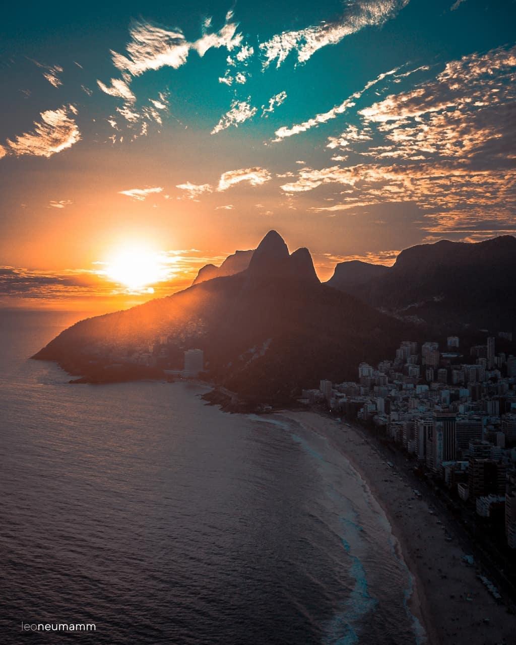 Rio de janeiro Carnival 2019 coucher de soleil