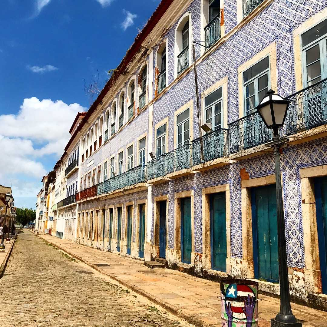 Sao Luis Brazil historical center