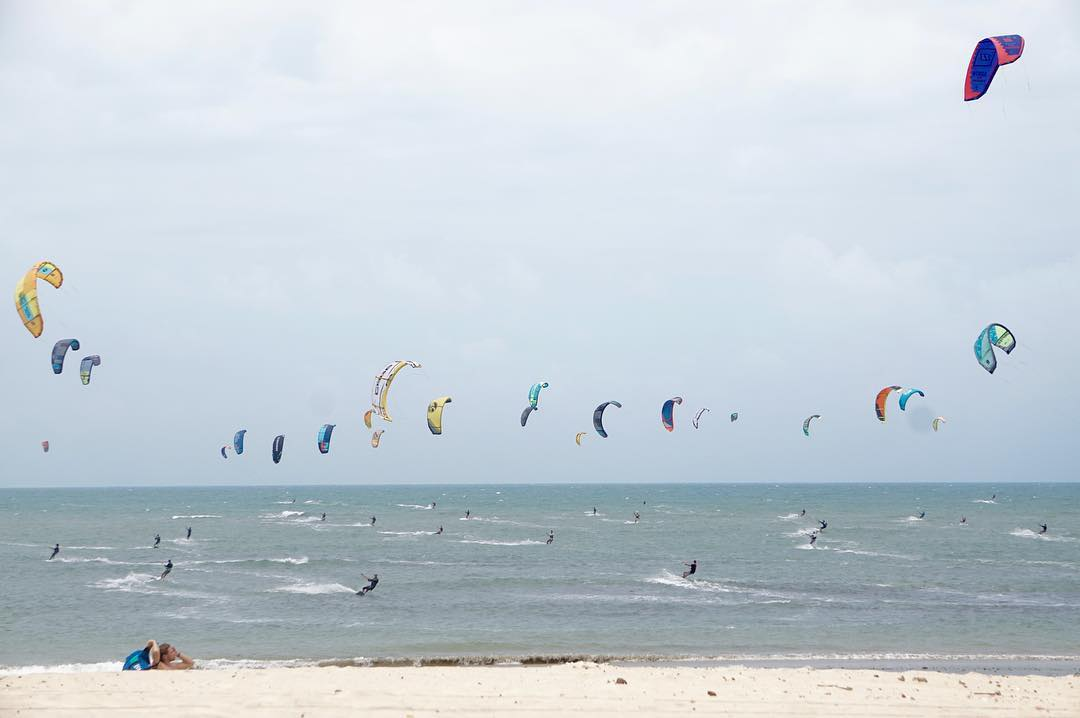 kitesurf northeast of Brazil cumbuco
