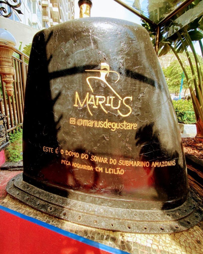 Restaurant rio de janeiro Marius
