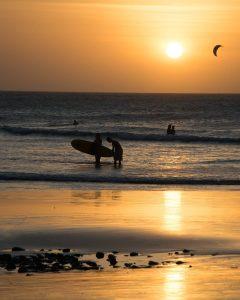 sunset Jericoacoara brazil by brazilecotour