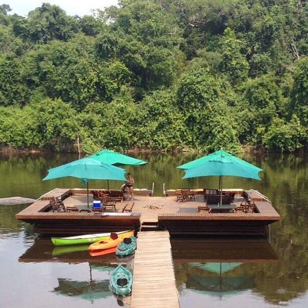 Amazon lodge Brazil Manaus