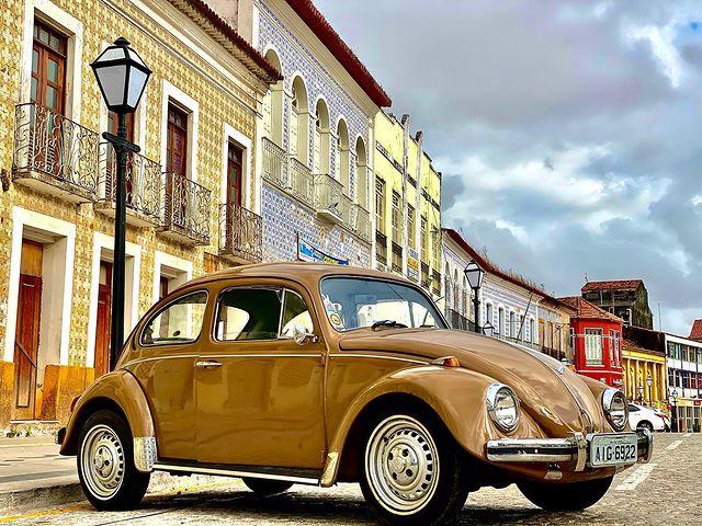 Centre historique Sao Luis Brésil