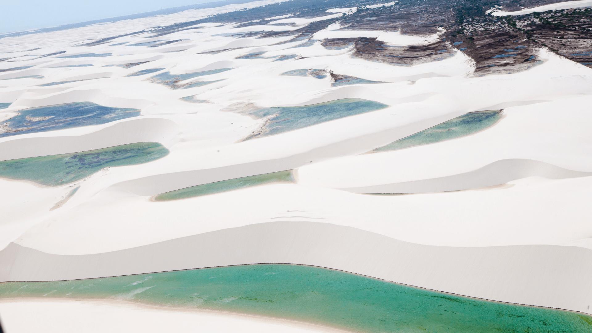 lençois maranhenses national park brazil