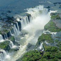 Cataratas -iguaçu -chute de iguaçu - brésil