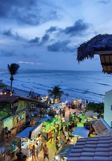 Jericoacoara village beach Brazil