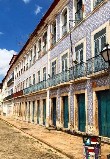Sao Luis Brazil historical center