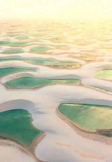 vol au dessus des lencois maranhenses brésil